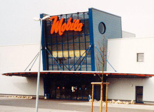 1995 - Eröffnung Mobila Rheinfelden