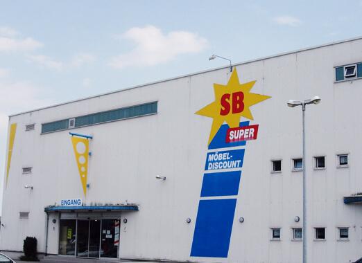 1998 - Neueröffnung Super-SB-Möbeldiscount in Rheinfelden