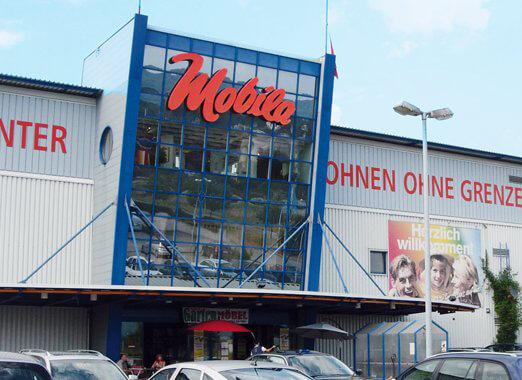 1995 - Eröffnung des Tochterunternehmens Mobila Rheinfelden