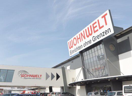 2008 - Neueröffnung Wohnwelt Rheinfelden