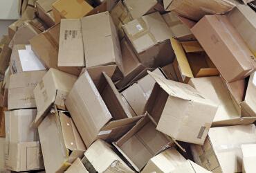 Verpackungs-Entsorgung