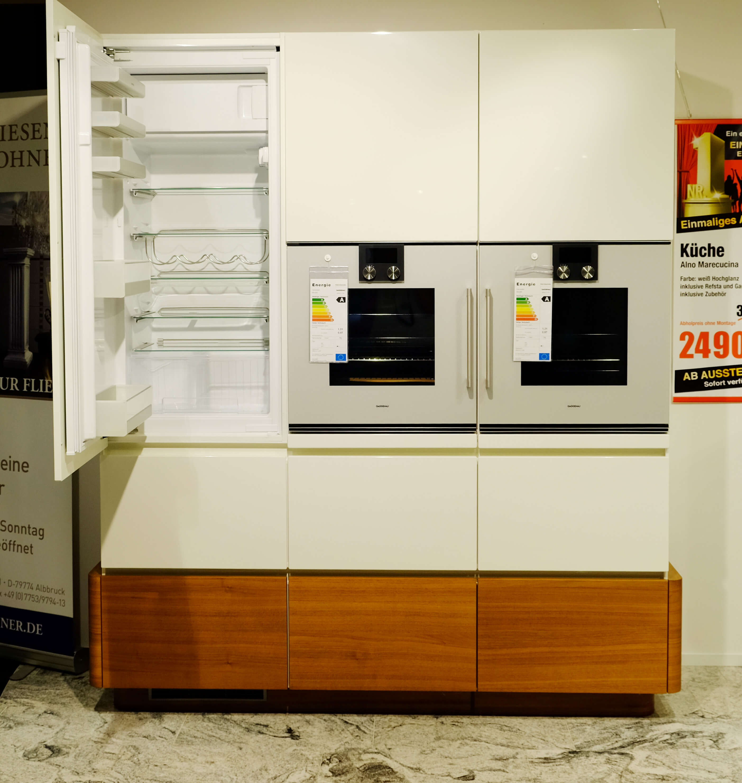 alno star highline k che reduziert m belmarkt dogern. Black Bedroom Furniture Sets. Home Design Ideas
