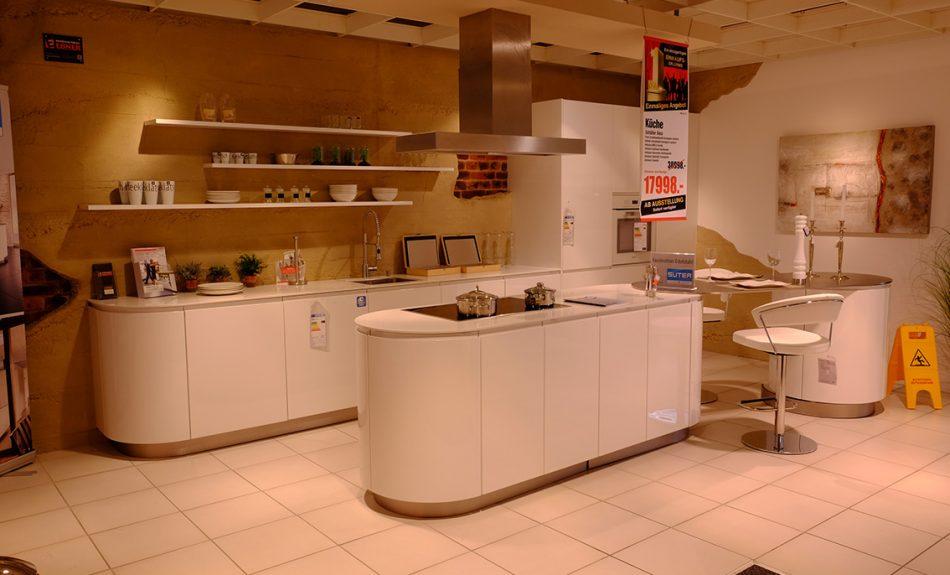 Ausstellungsküchen zu sonderpreisen möbelmarkt dogern