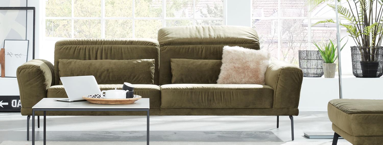 Wohnzimmer grün Interliving Modell 4103