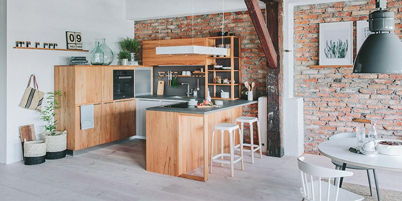 Küche Walden Holz