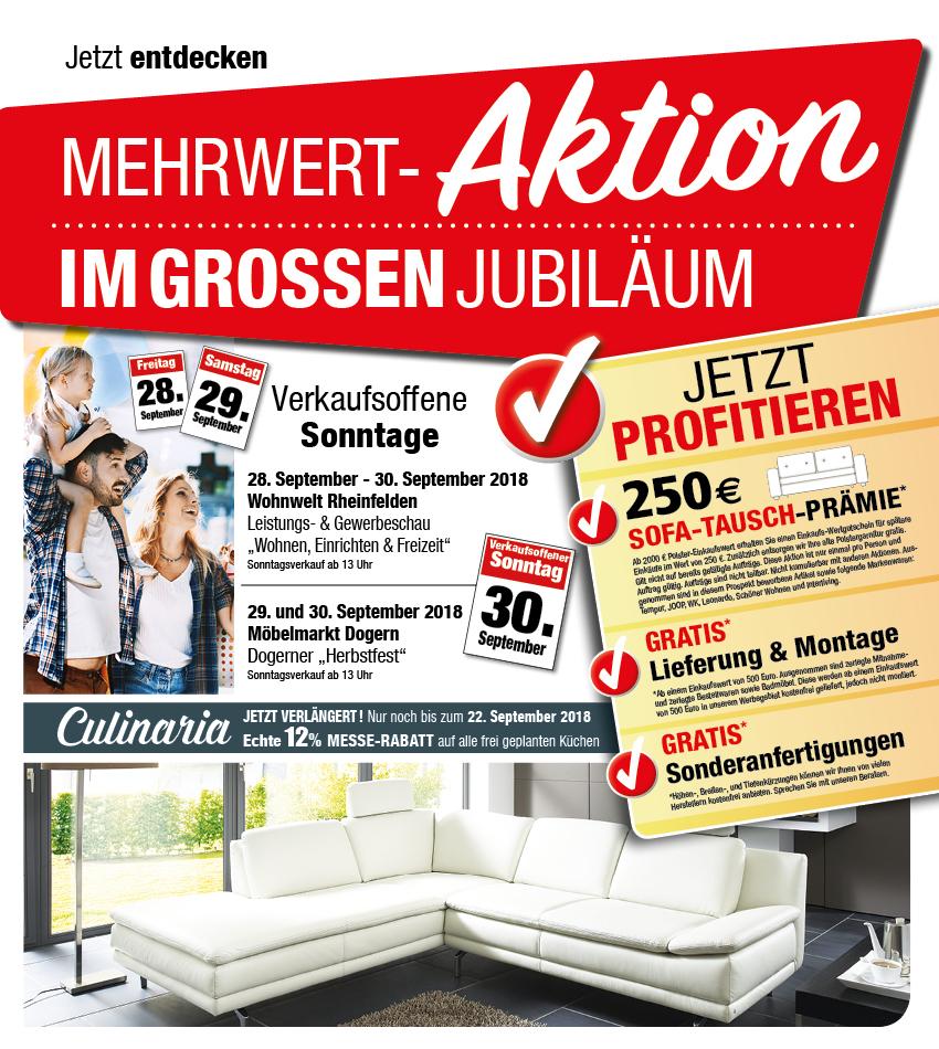 Mehrwert Aktion Möbelmarkt Dogern Ihr Einrichtungshaus Im