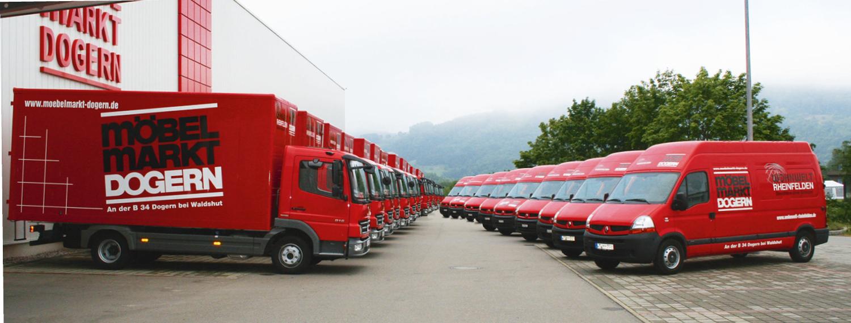 Fahrzeuge Möbelmarkt Dogern