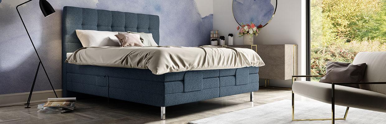 Schlafzimmer blau Schlaraffia