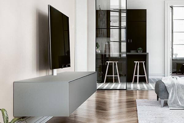 Wohnzimmer grau Spectral