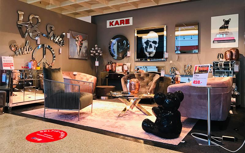 Möbelmarkt Ausstellung Kare