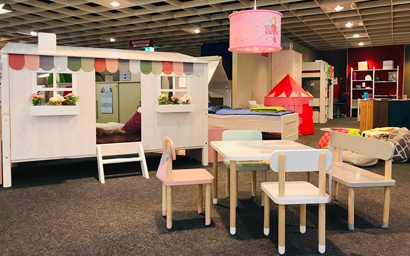 Möbelmarkt Ausstellung Kinderzimmer