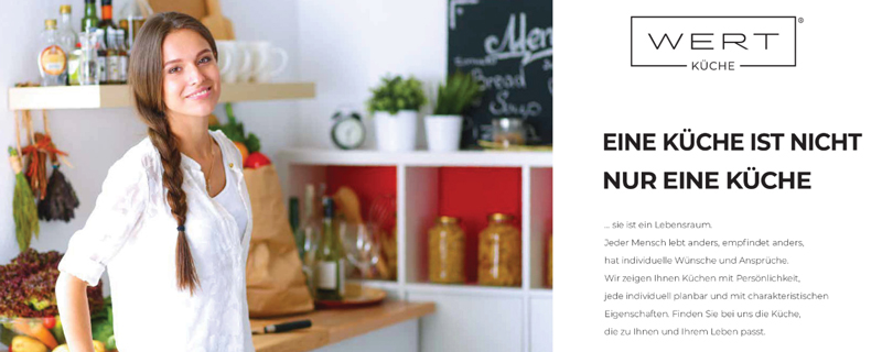 Broschüre WERT Küche