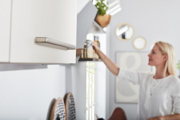Küche weiss Interliving