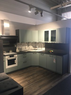 Küche blau Nobilia