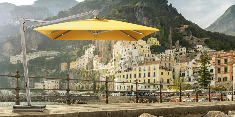 Sonnenschirm gelb