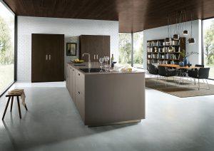 Küche braun next 125 Modell NX902