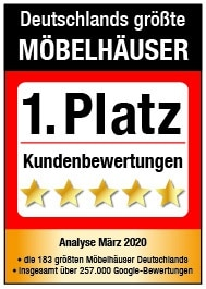iegel 1.Platz Deutschlands größte Möbelhäuser