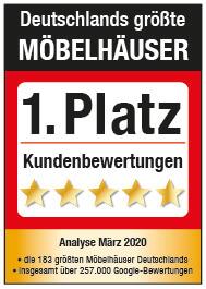 1. Platz Deutschlands größte Möbelhäuser
