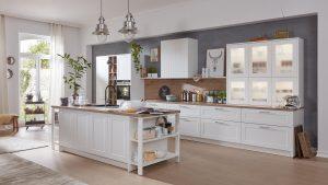 Küche Interliving Weiß Modell 3002