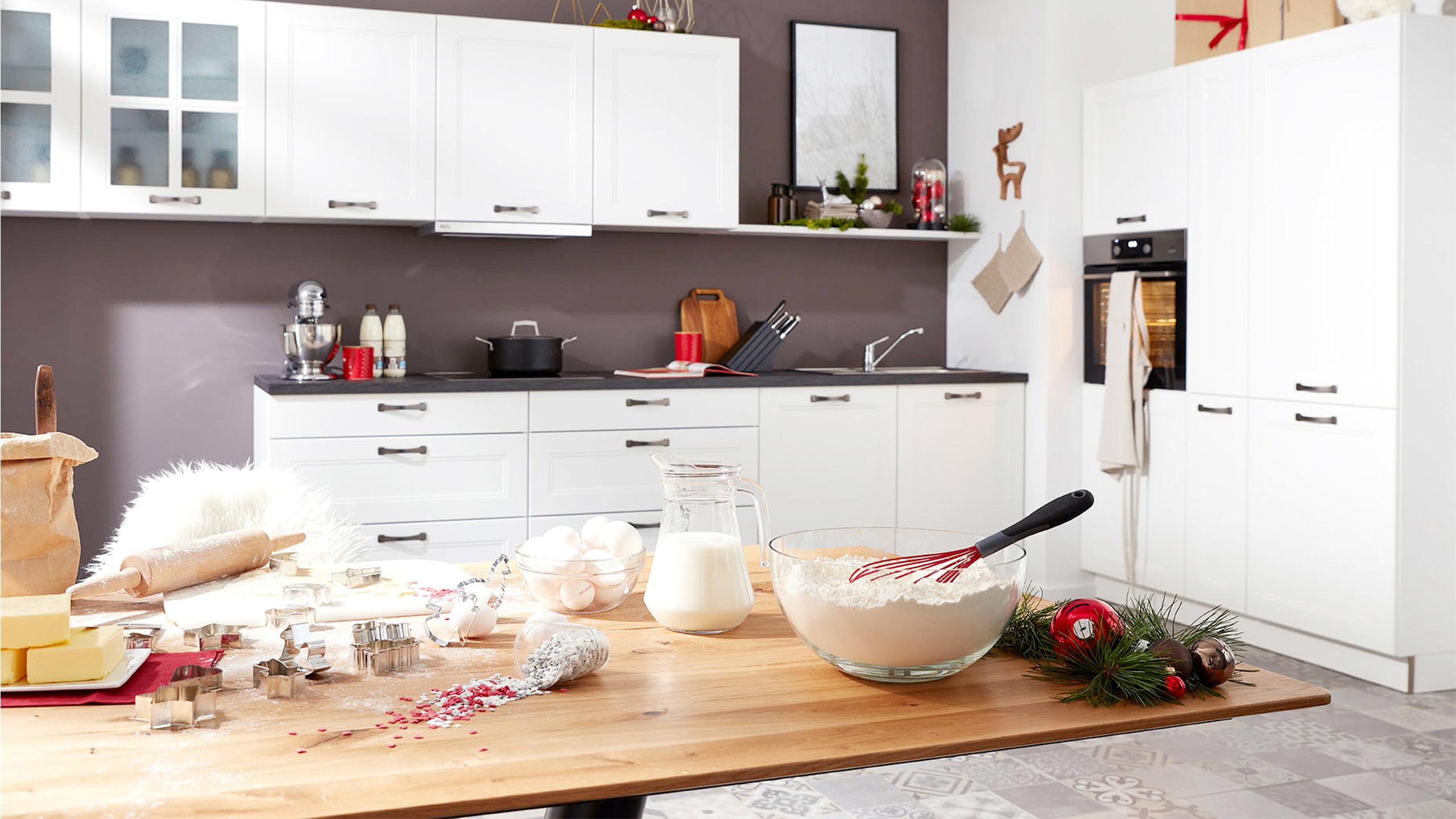 Küche Plätzchen