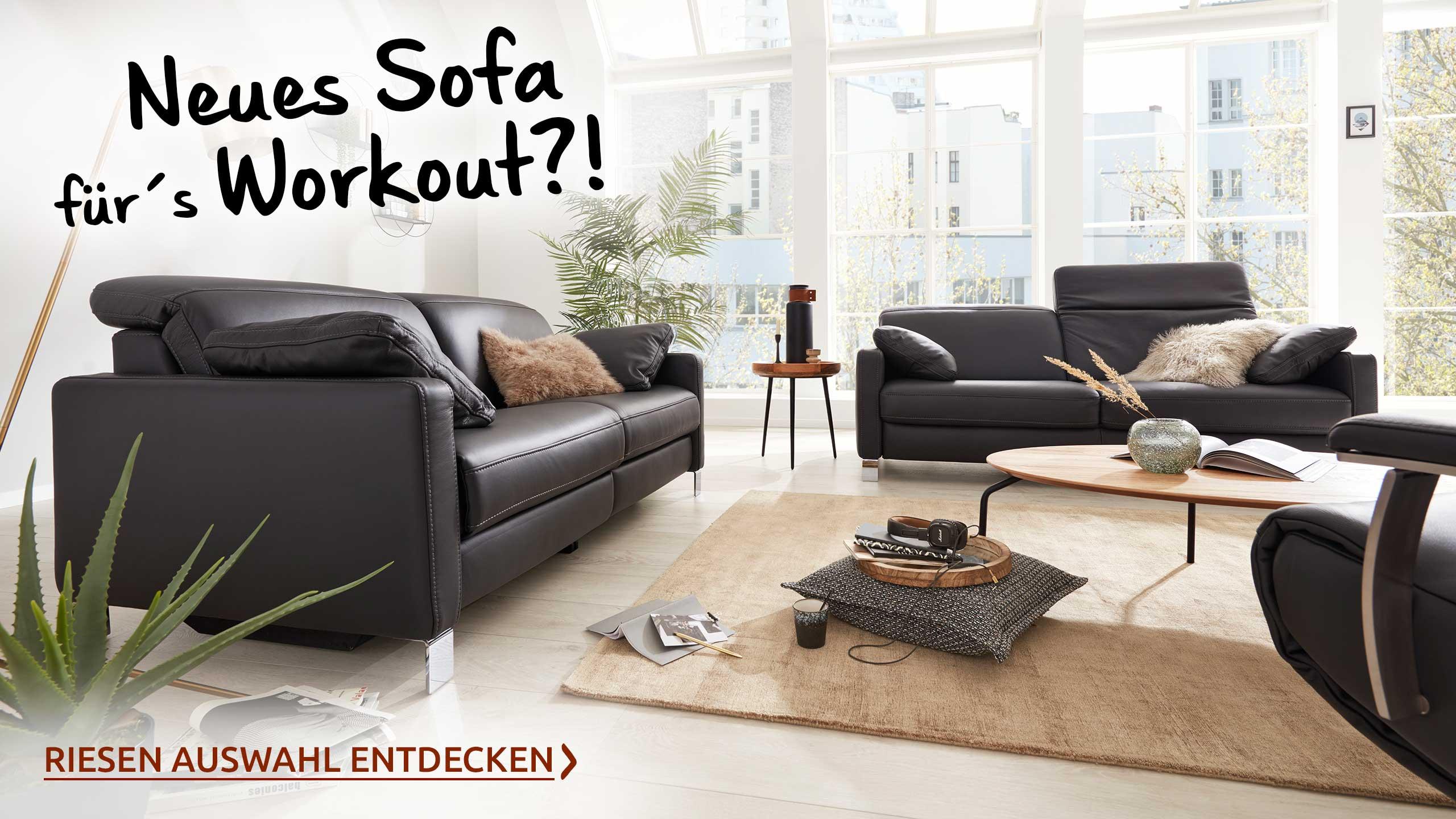 Workout mit Möbeln Sofa