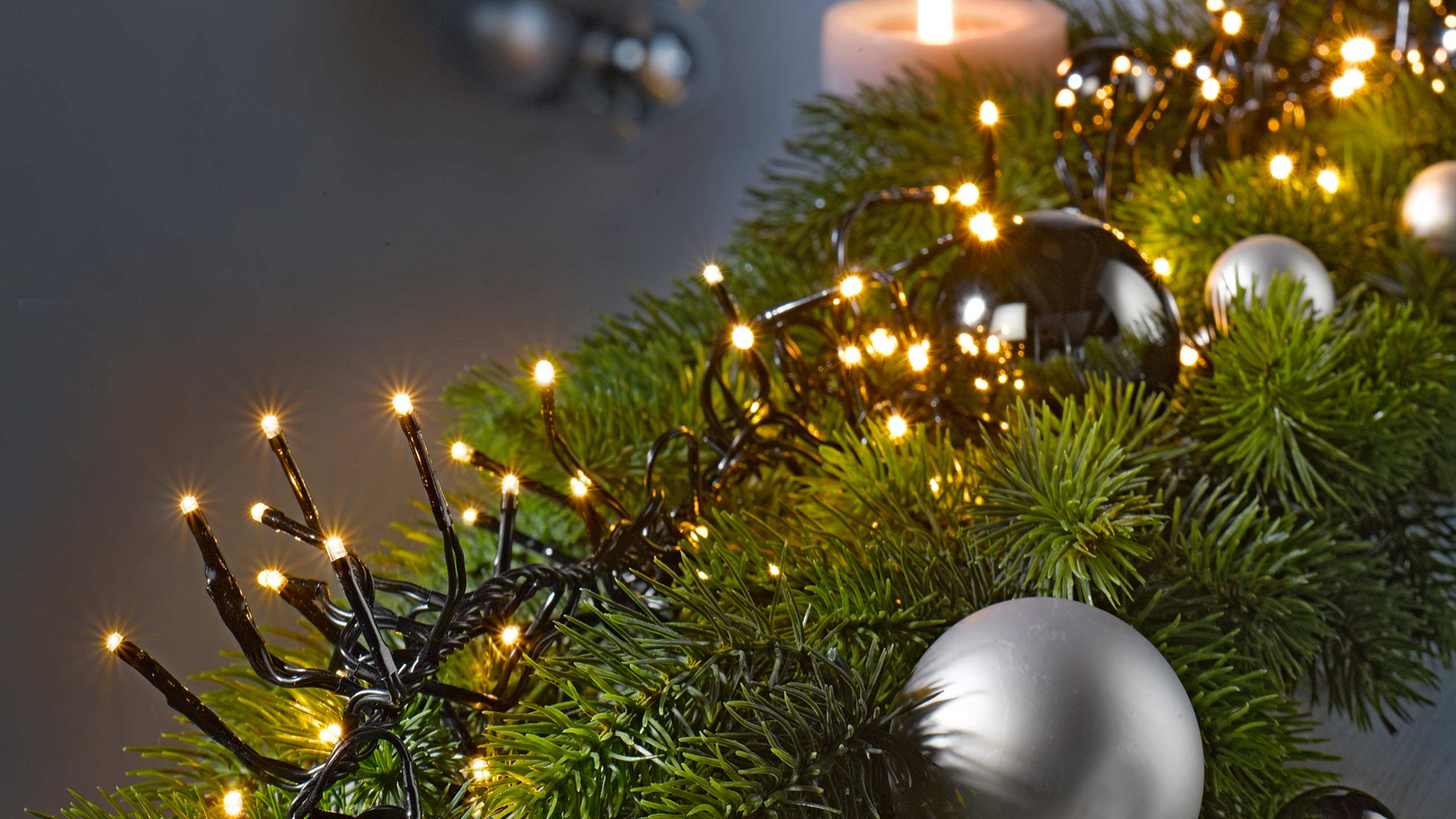 Deko Weihnachten Lichter Advent