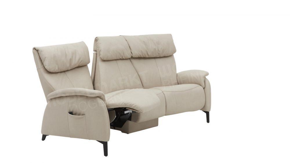 Trapez-Sofa  4867 * Exklusiv *