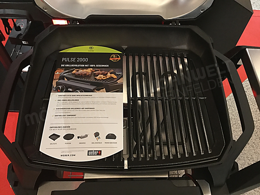 Elektrogrill  PULSE 2000 with Cart